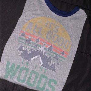 """It's All Good in the Woods"" Tee"